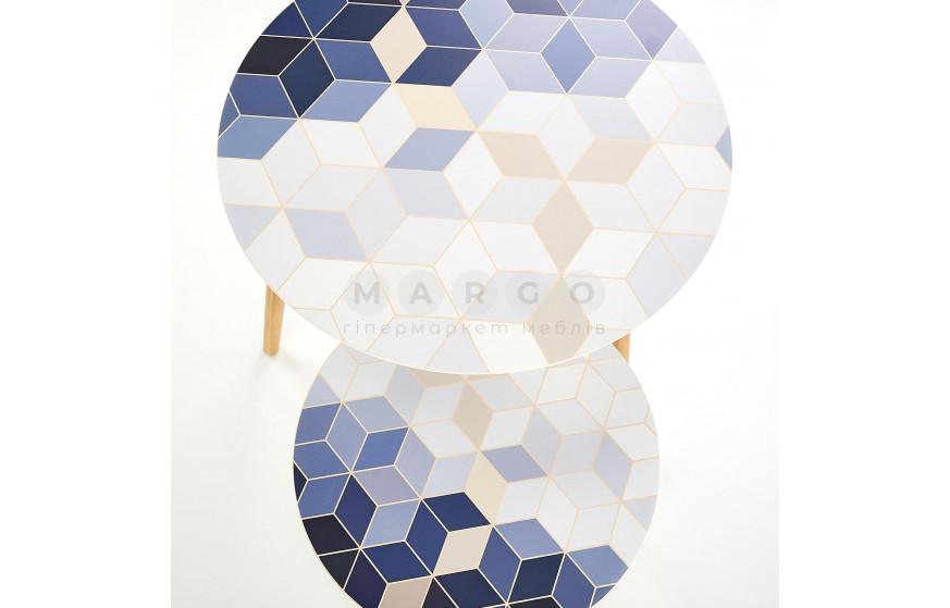 Стол журнальный TEQUILA разноцветный разноцветный 48,40: фото - Margo.ua