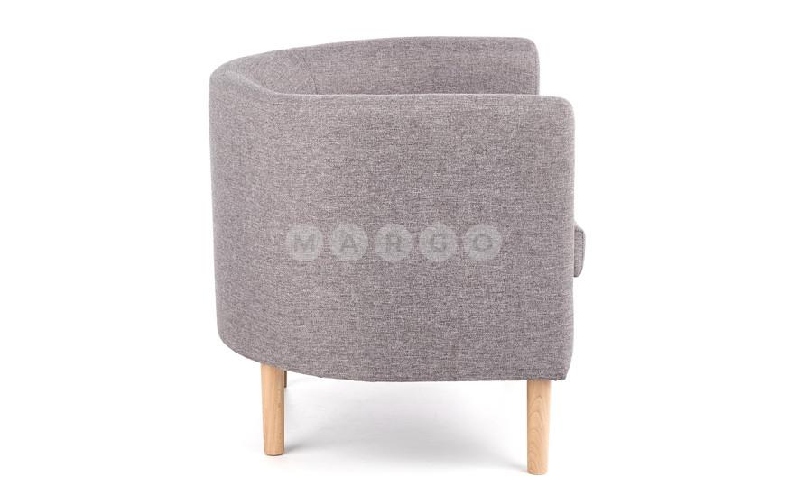 Кресло CLUBBY серый 64: фото - Margo.ua
