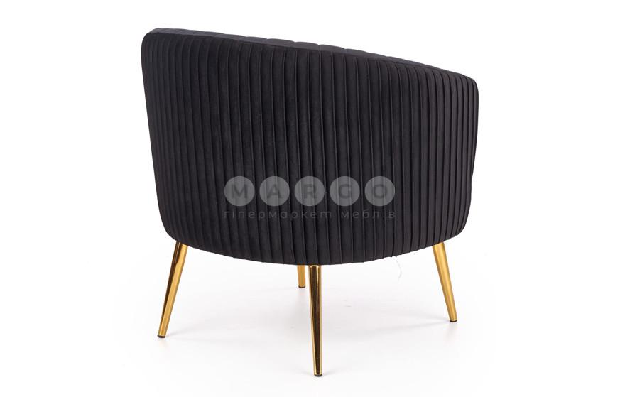 Кресло CROWN черный 80: фото - Margo.ua