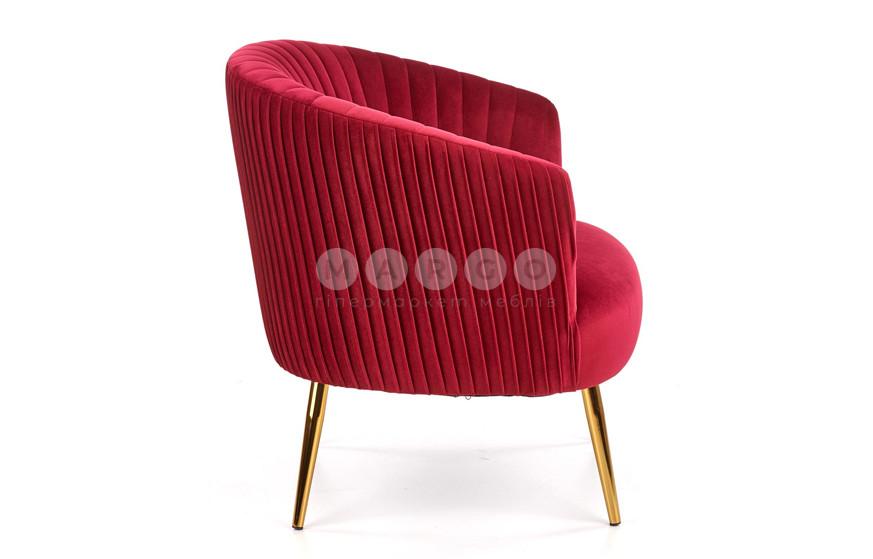 Кресло CROWN бордовый 80: фото - Margo.ua