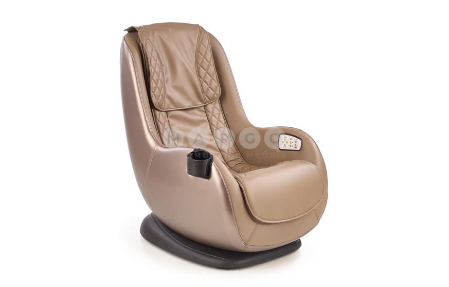 Кресло DOPIO бежевый/коричневый 94: фото - Margo.ua