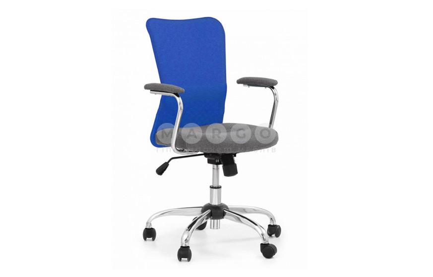 Кресло ANDY синий/серый синий/серый 87-95: фото - Margo.ua