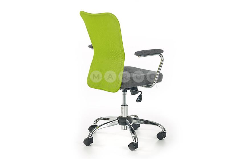 Кресло ANDY зеленый/серый зеленый/серый 87-95: фото - Margo.ua