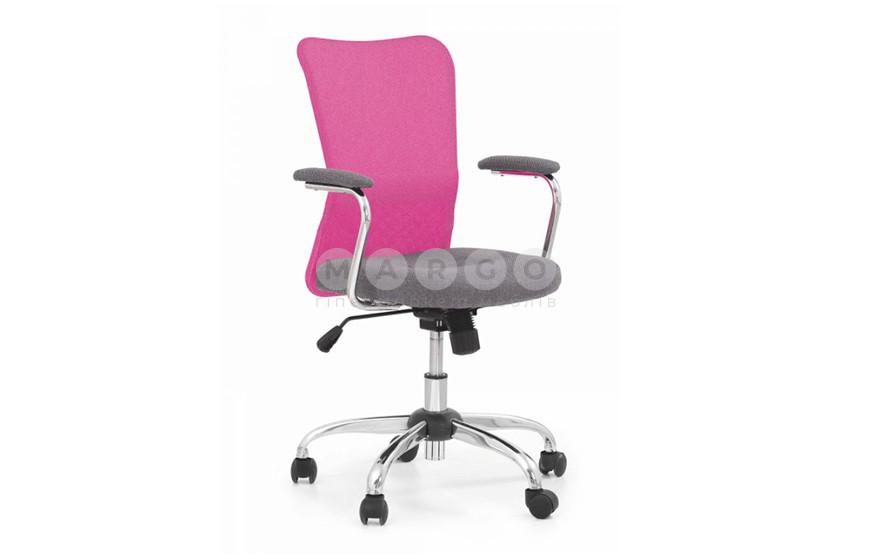 Кресло ANDY розовый/серый розовый/серый 56: фото - Margo.ua
