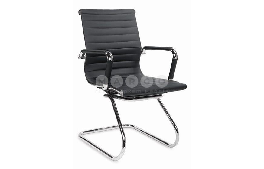 Кресло PRESTIGE SKID черный 88: фото - Margo.ua