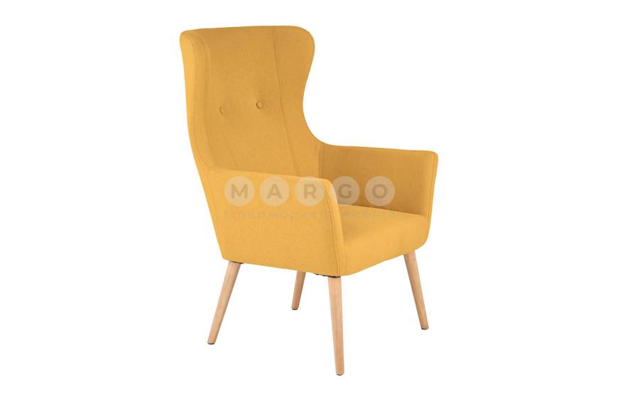 Кресло COTTO горчичный горчичный 99: фото - Margo.ua