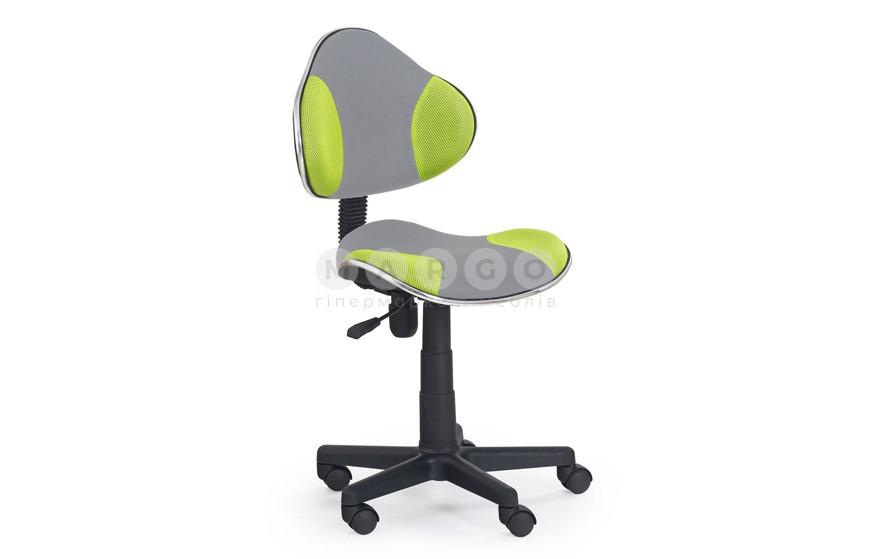 Кресло FLASH 2 серый/зеленый серый/зеленый 77-89: фото - Margo.ua