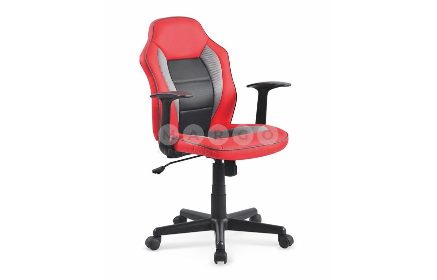 Кресло NEMO красный/черный/серый 90-100: фото - Margo.ua