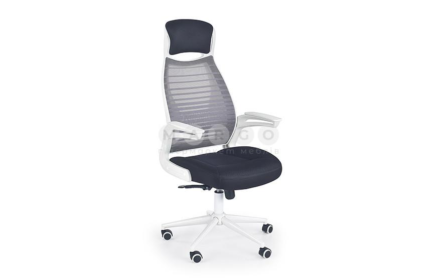 Кресло FRANKLIN черный/белый/серый 61: фото - Margo.ua