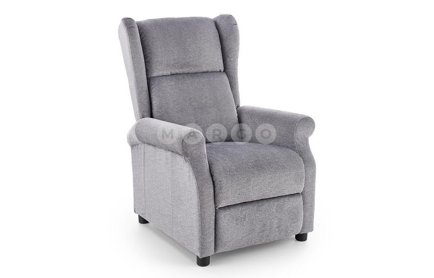 Кресло AGUSTIN-M серый 107-83: фото - Margo.ua