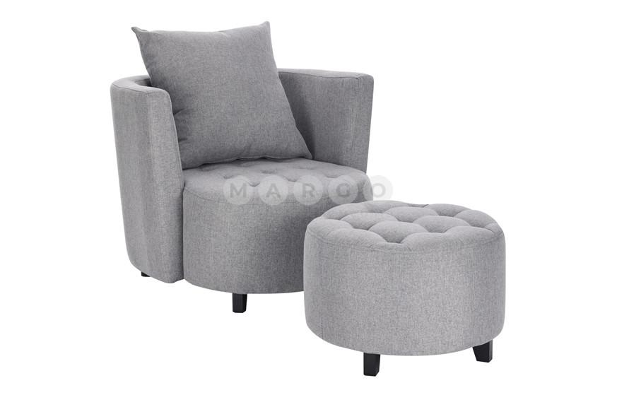 Кресло HAMPTON серый 61: фото - Margo.ua