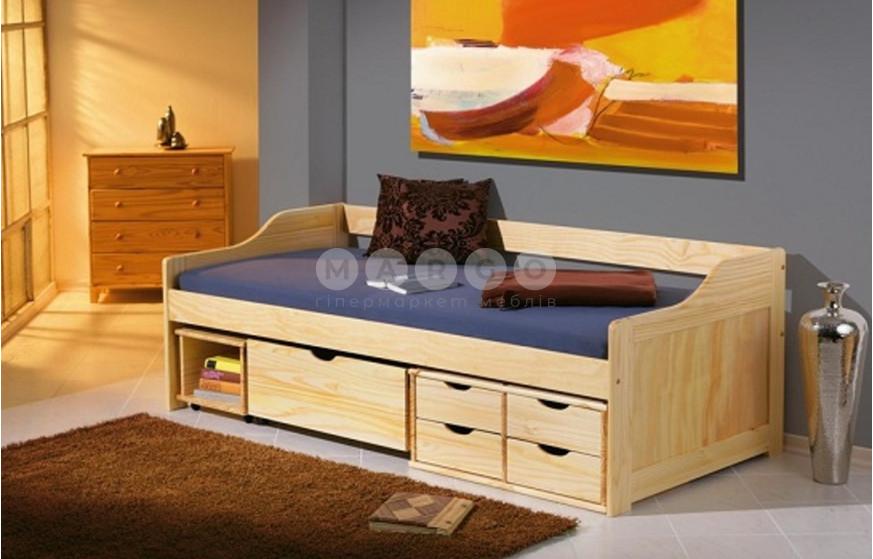 Кровать MAXIMA 2 сосна 65: фото - Margo.ua