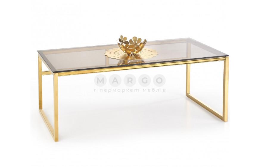 Стол журнальный MARLIN коричневый/золотой коричневый/золотой 60: фото - Margo.ua