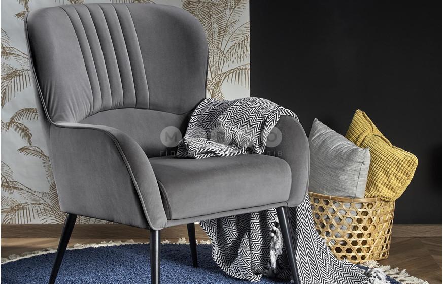 Кресло VERDON серый 94: фото - Margo.ua