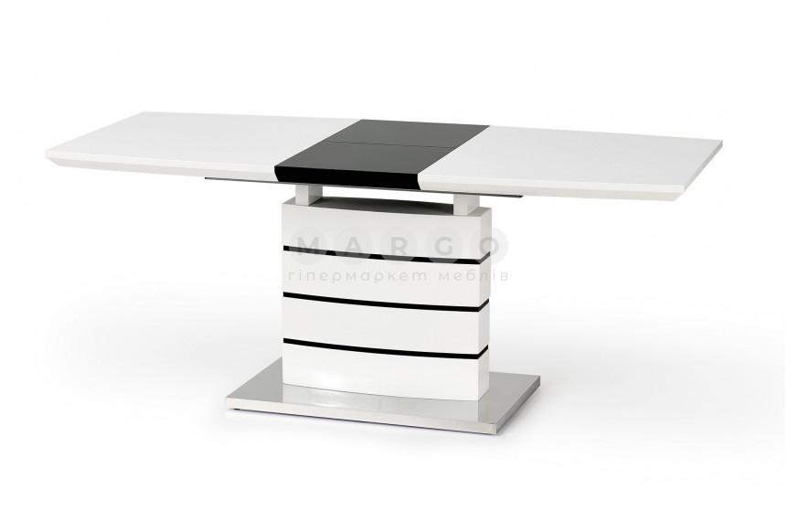 Стол NORD черно-белый черный/белый 80: фото - Margo.ua