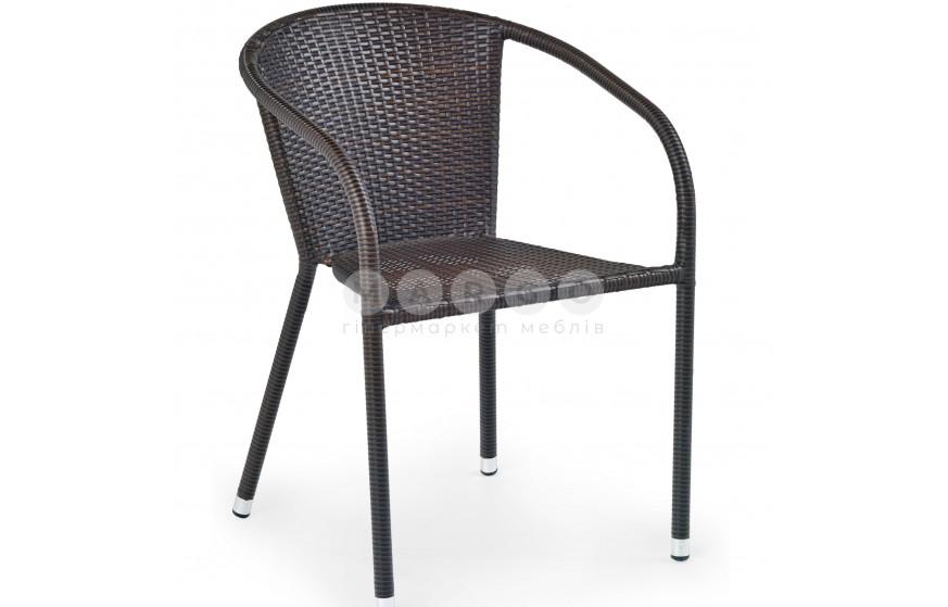 Крісло MIDAS темно-коричневий темно-коричневий 57: фото - Margo.ua