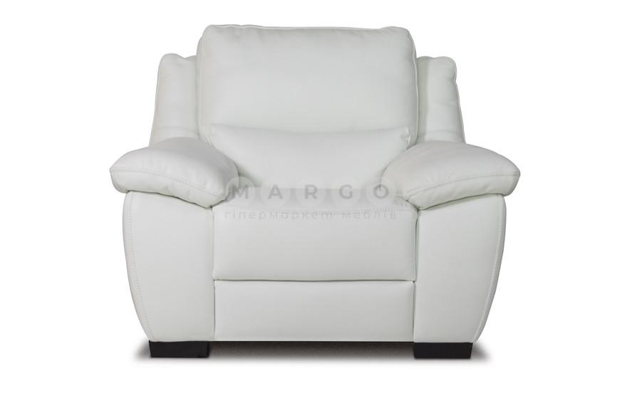Кресло с электрореклайнером U214 белый 96: фото - Margo.ua
