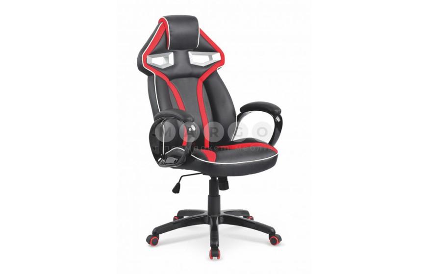 Кресло HONOR черный/красный 118-128: фото - Margo.ua
