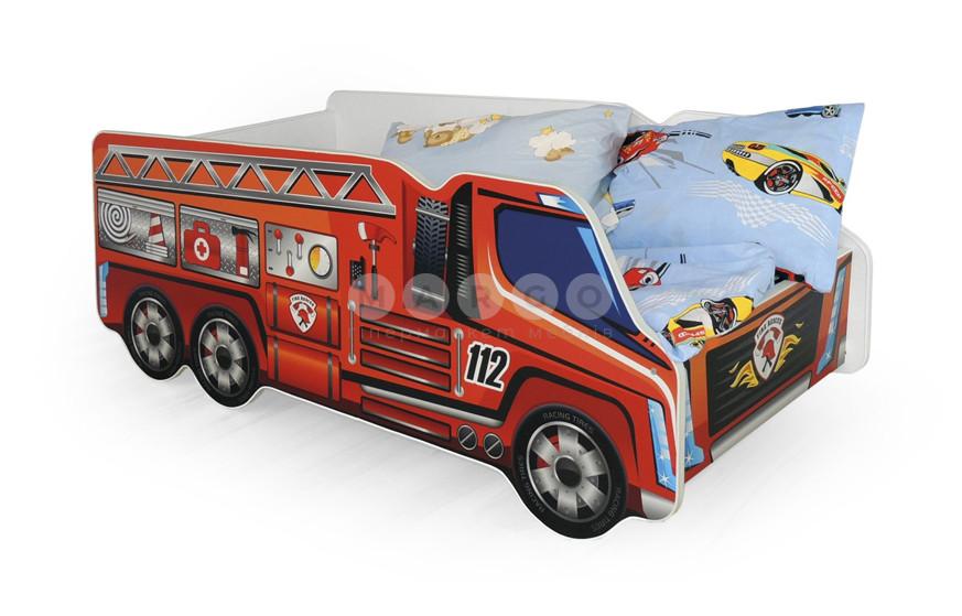 Кровать FIRE TRUCK разноцветный 58: фото - Margo.ua