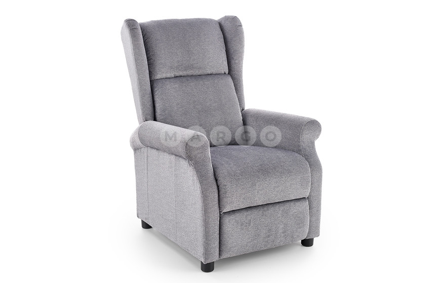 Кресло AGUSTIN серый 107-83: фото - Margo.ua