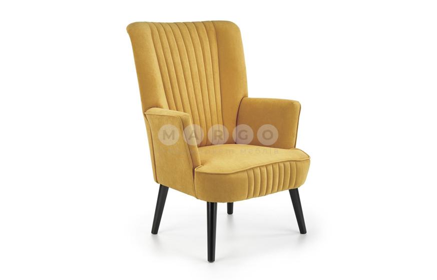 Кресло DELGADO горчичный 100: фото - Margo.ua