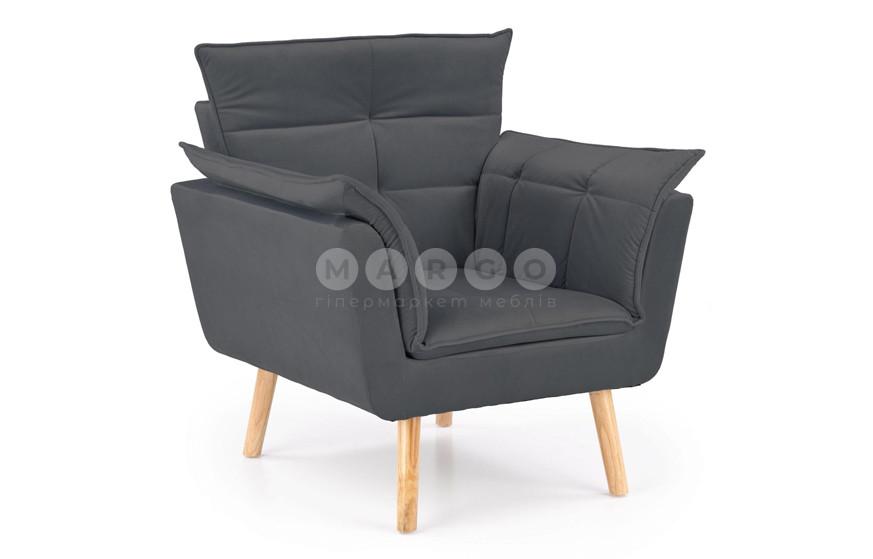 Кресло REZZO серый 84: фото - Margo.ua